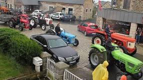Pour l'occasion, une quarantaine de tracteurs défileront dans les rues du bourg samedi en fin d'après midi